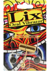 Lix Tongue Oral Vibrator Gold