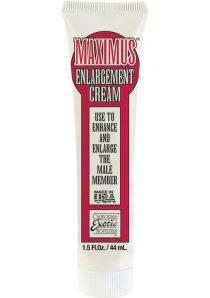 Maximus Enlargement Cream 1.5 Ounce