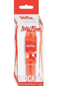Wildfire Rock In Vibe Waterproof 4 Inch Red