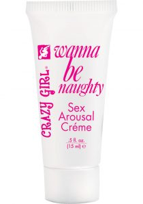 Crazy Girl Naughty Nympho Sexual Arousal Creme Unscented .5 Ounce