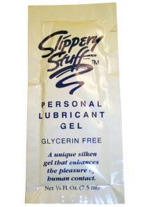 Slippery Stuff Water Based Lubricant Gel .25 Ounce Sample
