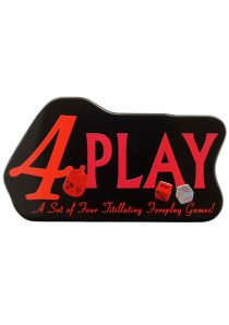 4 Play Game A Set O Four Titillating Foreplay Games