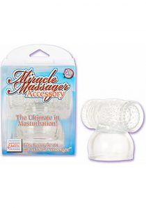 Miracle Massager Accessory Male Masturbation 3.75 Inch Clear