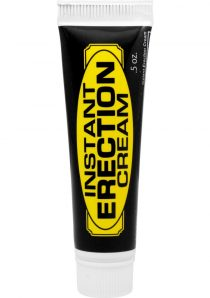 Instant Erection Cream .5 Ounce Home Party Box