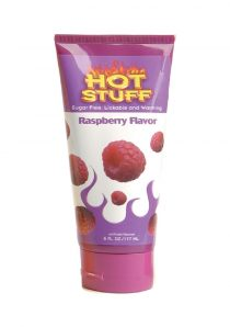 Hot Stuff Edible Warming Water Based Massage Oil Raspberry 6 Ounce