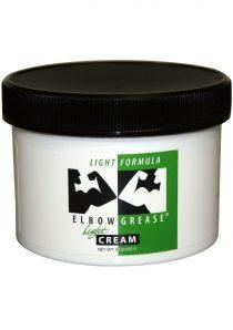 Elbow Grease Light Formula Light Cream Lubricant 9 Ounce