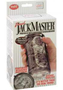 TRAVEL JACK MASTER PREMIUM SELF CONTAINED MASTURBATOR TRAVEL SIZE SMOKE