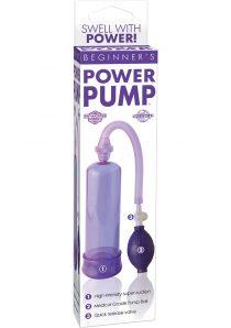 Beginners Power Pump Purple
