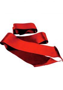 Sex And Mischief Silky Sash Restraints Beginner 2 Per Pack Red