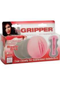 THE GRIPPER RIPPLE GRIP STROKER PURE SKIN MATERIAL FLESH