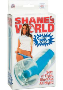 SHANES WORLD COLLEGE TEASE PUSSY STROKER BLUE