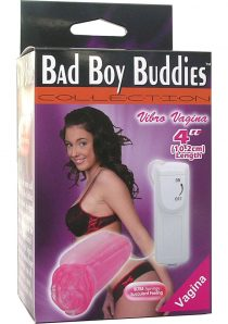 Bad Boy Buddies Vibrating 4 Pink Vagina