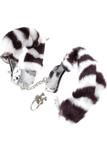 Fetish Fantasy Series Furry Cuffs Zebra