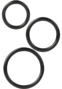 Silicone Support Rings Medium Large And Extra Large Black