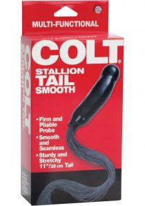 COLT STALLION TAIL SMOOTH BLACK