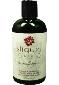 Sliquid Oceanics Organic Intimate Water Based Lubricant 8.5 Ounce