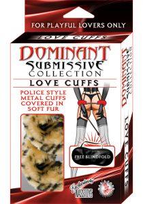 Dominant Submissive Love Cuffs Leopard