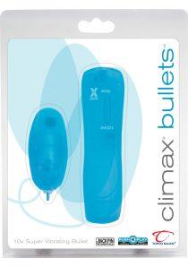 Climax 10x Super Vibrating Bullet Blue