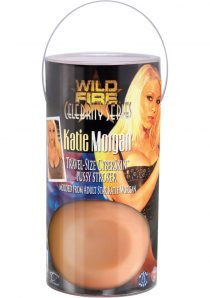 Wild Fire Celebrity Series Katie Morgan Travel Size Cyberskin Pussy Stroker