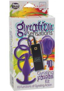 Gyration Sensations Gyrating Passion Kit Silicone Purple