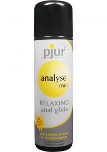 Analyse Me Relaxing Anal Glide Silicone Lubricant 8.5 Ounce