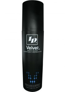 Id Velvet Silicone Lubricant Waterproof 6.7 Ounce