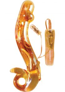 Icicles No 35 10 Function Glass Massager Peach
