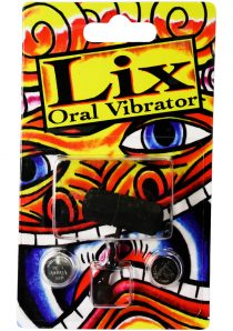 Lix Oral Vibrator Black