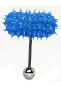 Lix Thrasher Oral Vibrator Glow In The Dark Blue