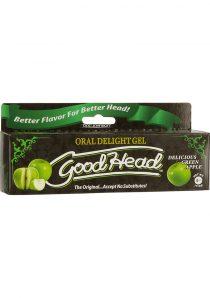 Goodhead Oral Delight Gel Green Apple 4 Ounce