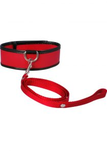Sex And Mischief Leash and Collar Red