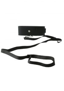 Sex And Mischief Leash and Collar Black