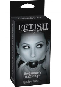 Fetish Fantasy Series Limited Edition Beginner`s Ball Gag Black