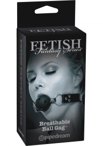 Fetish Fantasy Series Limited Edition Breathable Ball Gag Black