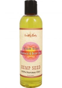 Massage And Body Oil With Hemp Seed High Tide 8 Ounce