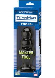 TitanMen Tools Master Tool Number 4 Black 6.5 Inch