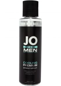 Jo For Men H2O Cooling Premium Personal Lubricant 4 Ounce
