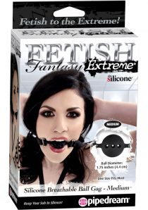 Fetish Fantasy Extreme Silicone Breathable Ball Gag Med