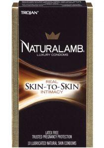 Naturalamb Luxury Lubricated 10 pack