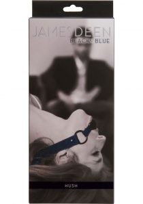 James Deen Black And Blue Hush Ball Gag