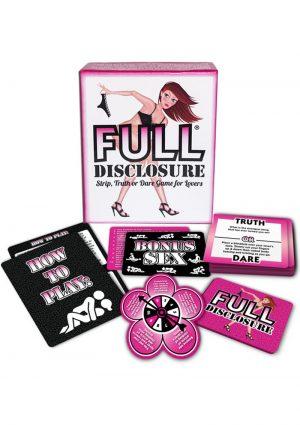 Full Disclosure Game