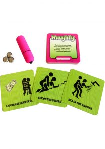 Naughty Vibrations Game With Waterproof Bullet