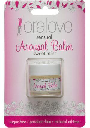 Oralove Sensual Arousal Balm Sweet Mint .25 Ounce Jar