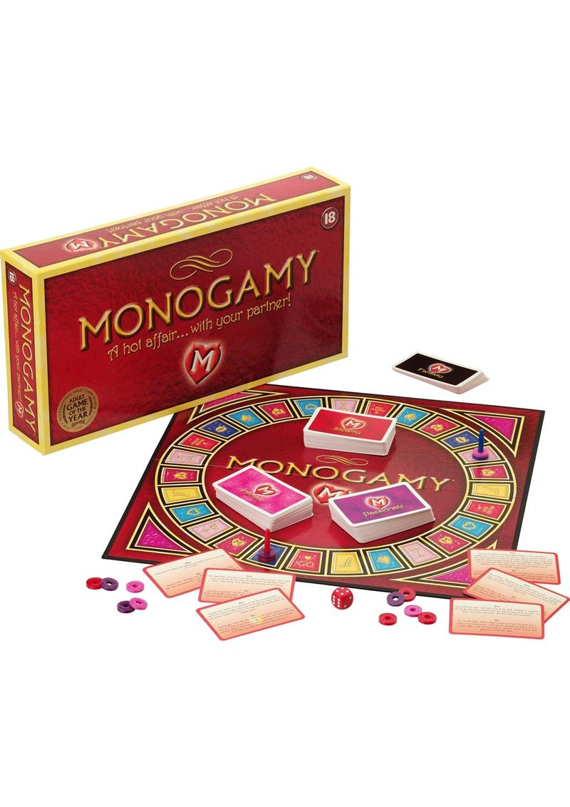 Monogamy Couples Board Game Spanish Edition
