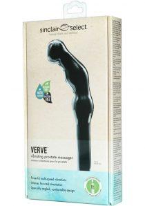 Sinclair Select Verve Vibrating Prostate Massager Black