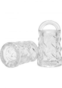 Oxballs Gripper Silicone Nipple Sucker Clear 2 Each Per Pack