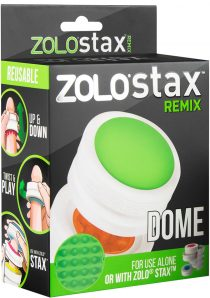 Zolo Stax Remix Dome Textured Masturbator