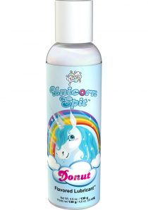 Wet Unicorn Spit Waterbased Lubricant Donut Flavor 4.6 Ounce