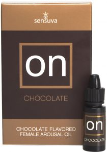 On Chocolate Flavored Female Arousal Oil 5 Milliliters