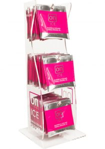 On Ice Buzzing and Cooling Female Arousal Oil .01 Ounce 40 Ampoule Per Tower